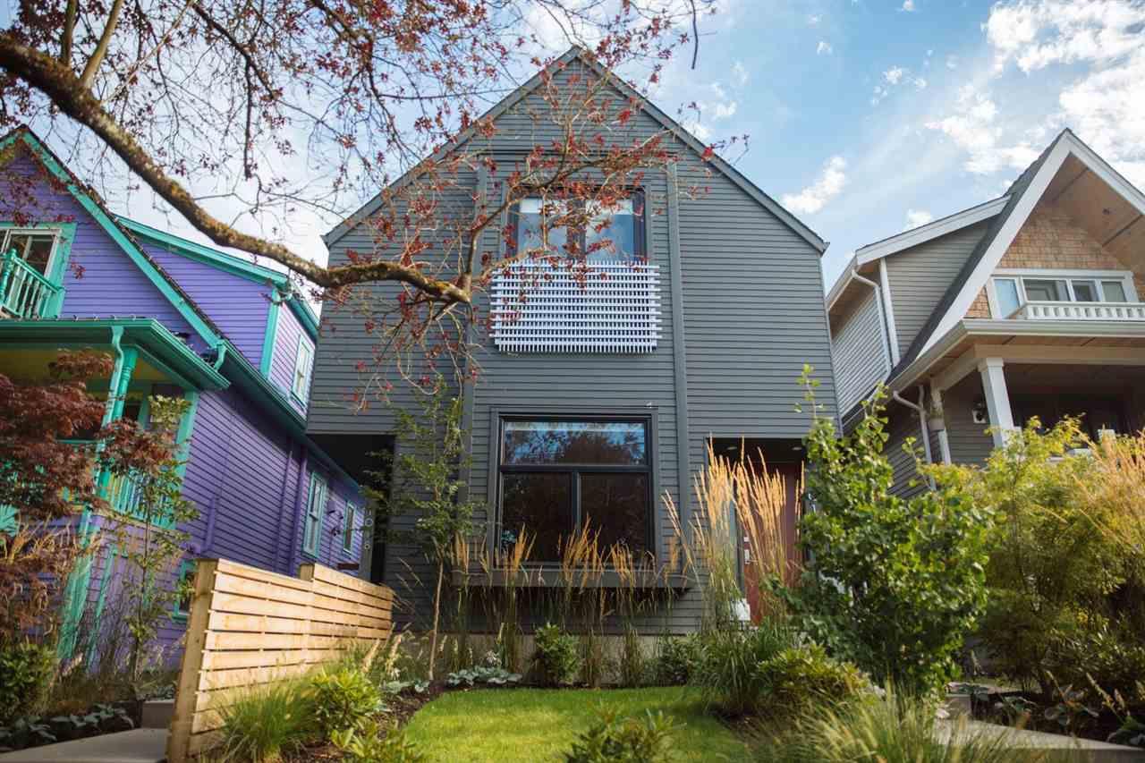 Main Photo: 1018 E 14TH Avenue in Vancouver: Mount Pleasant VE House 1/2 Duplex for sale (Vancouver East)  : MLS®# R2246905