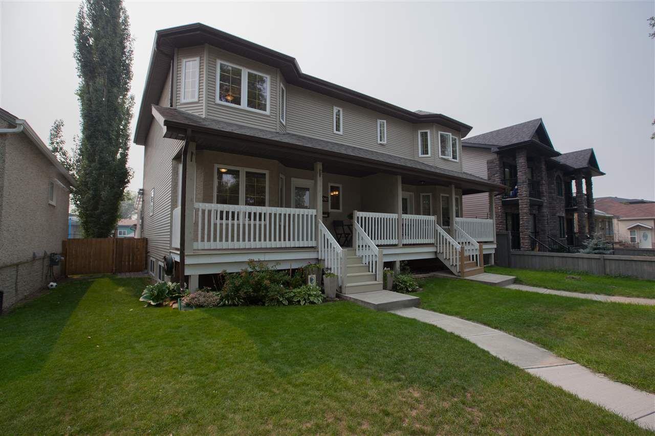 Main Photo: 10707 71 Avenue in Edmonton: Zone 15 House Half Duplex for sale : MLS®# E4126106
