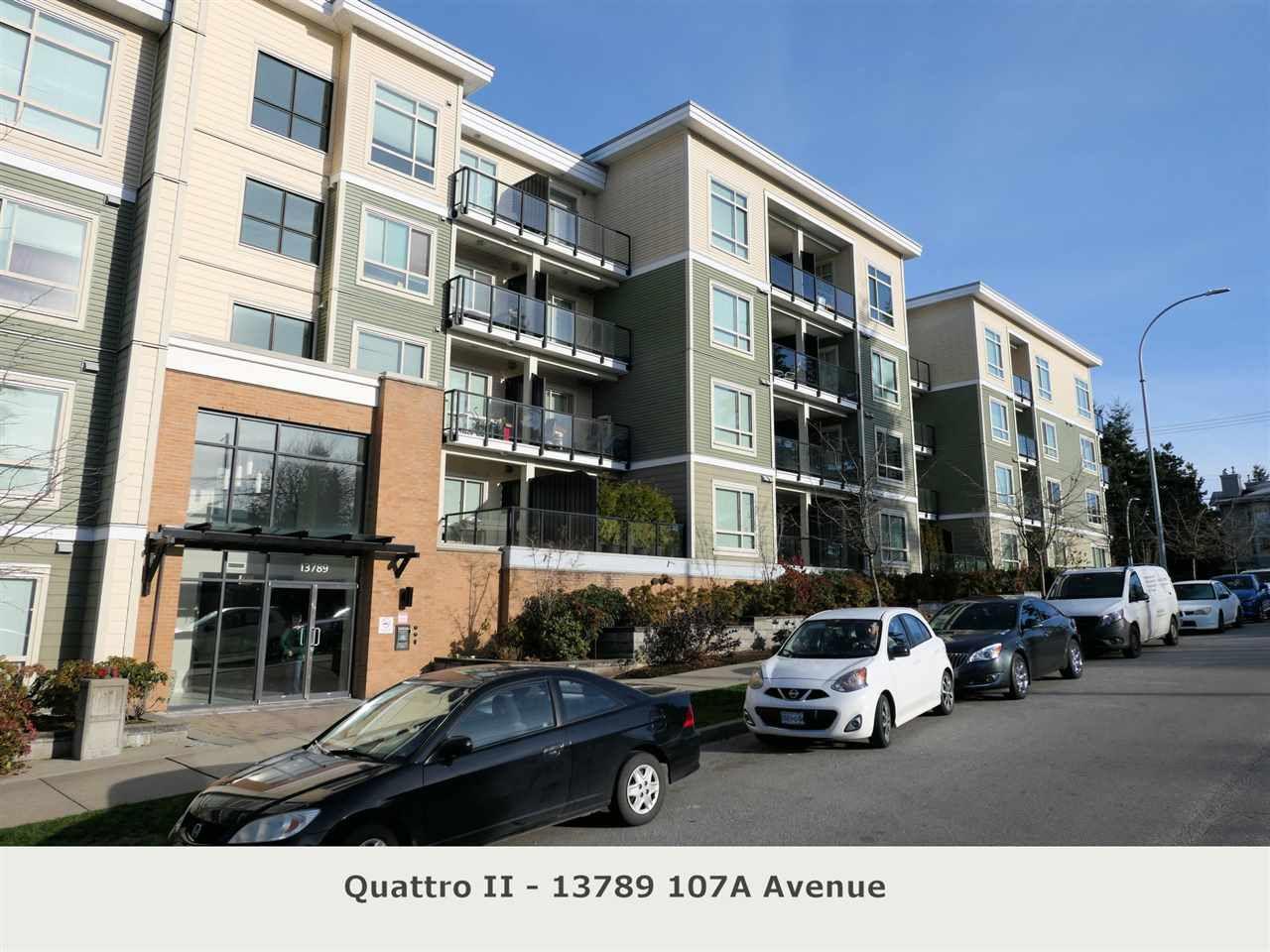 "Main Photo: 225 13789 107A Avenue in Surrey: Whalley Condo for sale in ""Quattro II"" (North Surrey)  : MLS®# R2326632"