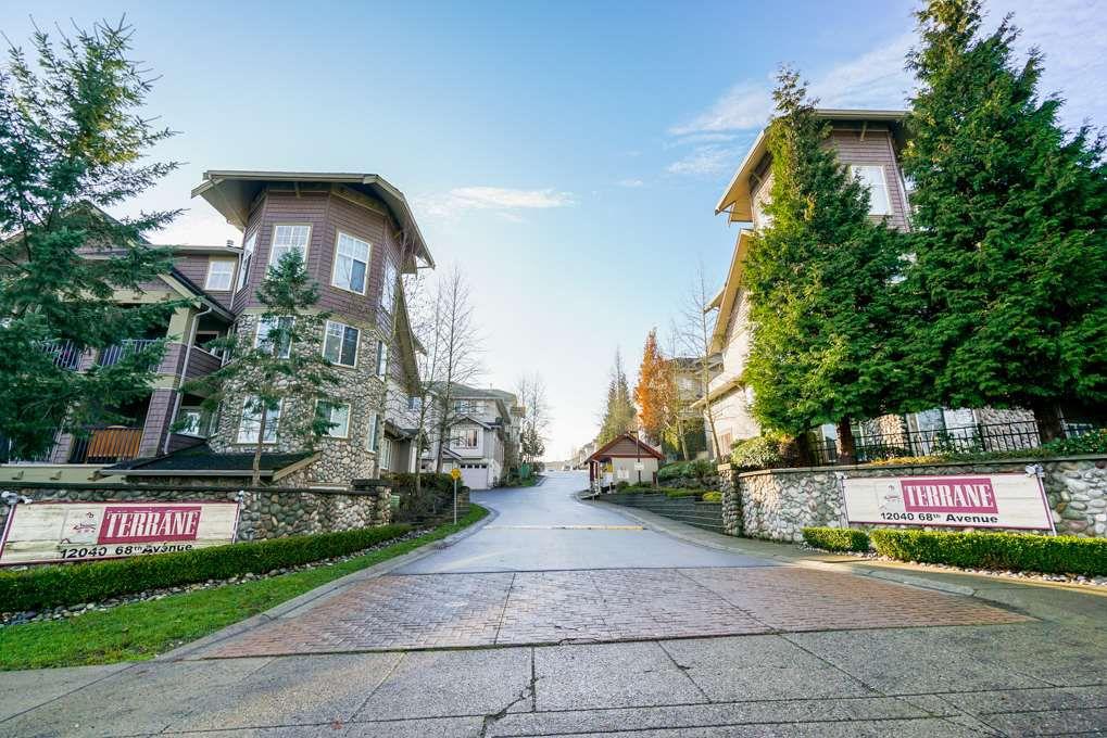 "Main Photo: 61 12040 68 Avenue in Surrey: West Newton Townhouse for sale in ""TERRANE"" : MLS®# R2332103"