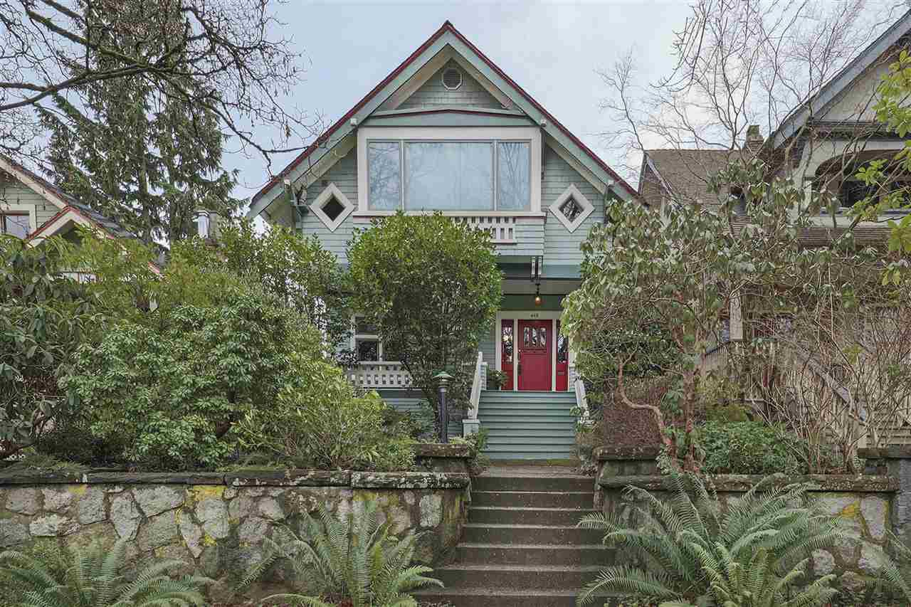 Main Photo: 448 W 18TH Avenue in Vancouver: Cambie House for sale (Vancouver West)  : MLS®# R2337848