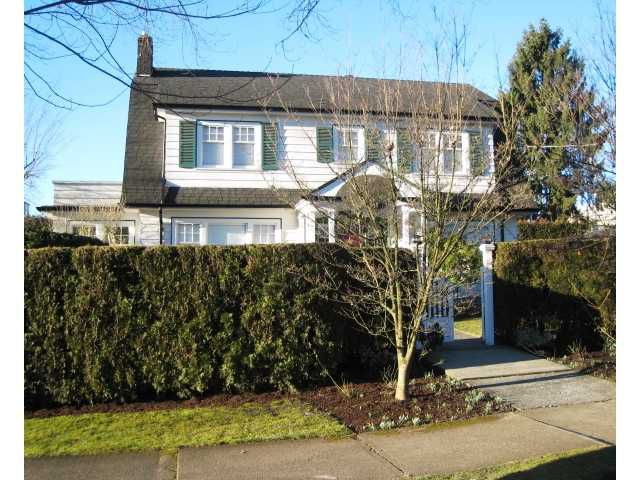 Main Photo: 302 FIFTH Street in New Westminster: Queens Park House for sale : MLS®# V1044865