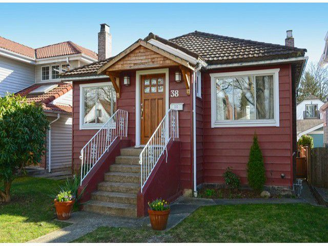 "Main Photo: 38 W 20TH Avenue in Vancouver: Cambie House for sale in ""CAMBIE VILLAGE"" (Vancouver West)  : MLS®# V1053953"