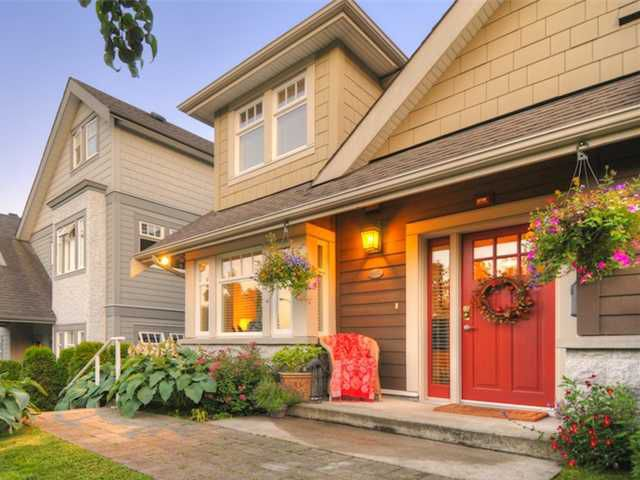 Main Photo: 4460 W 8TH AV in Vancouver: Point Grey Townhouse for sale (Vancouver West)  : MLS®# V977340