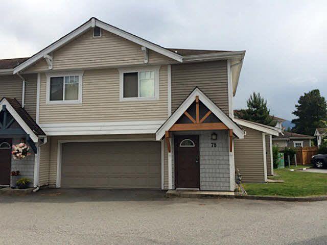 "Main Photo: 78 1821 WILLOW Crescent in Squamish: Garibaldi Estates Townhouse for sale in ""GARIBALI ESTATES/WILLOW VILLAGE"" : MLS®# V1070210"