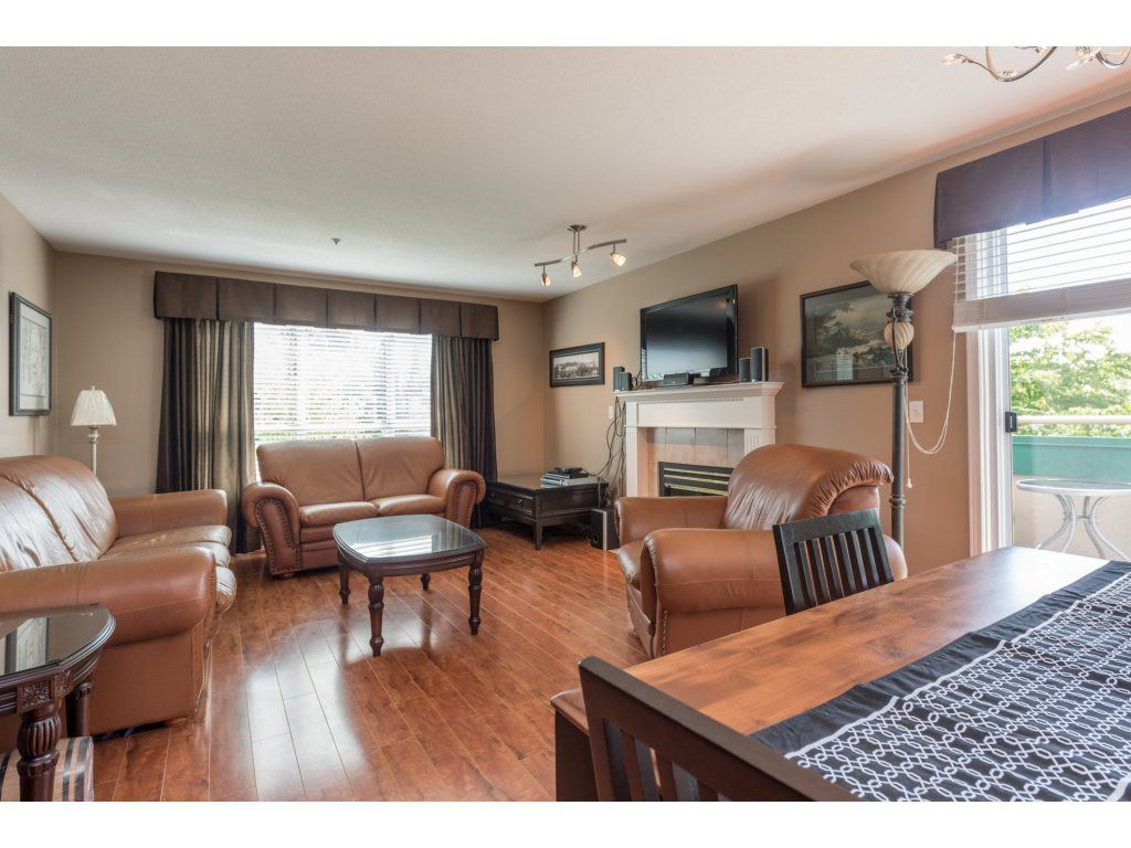 "Main Photo: 313 13860 70 Avenue in Surrey: East Newton Condo for sale in ""CHELSEA GARDENS"" : MLS®# R2175558"