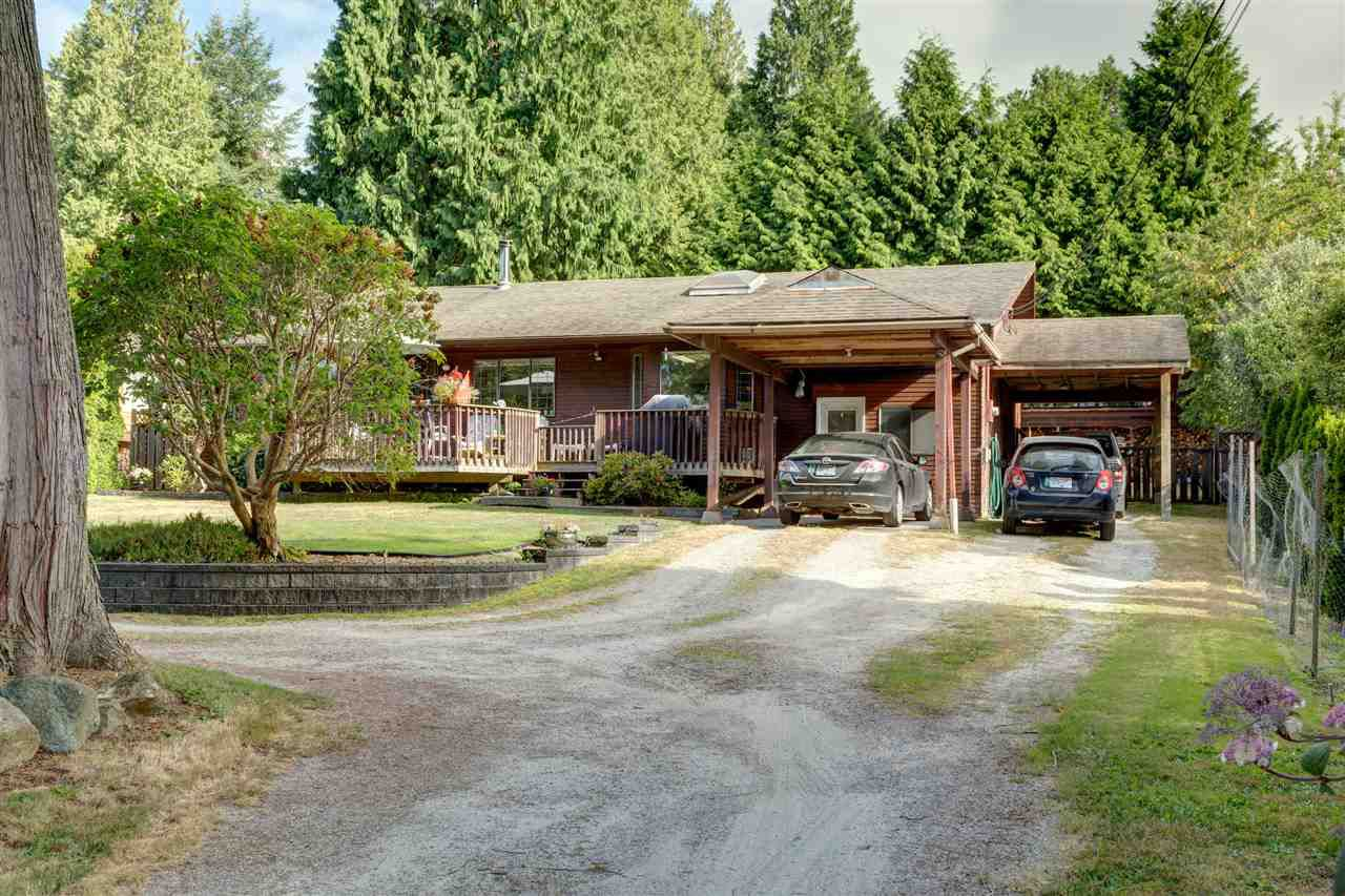 Main Photo: 1208 GOWER POINT Road in Gibsons: Gibsons & Area House for sale (Sunshine Coast)  : MLS®# R2186268