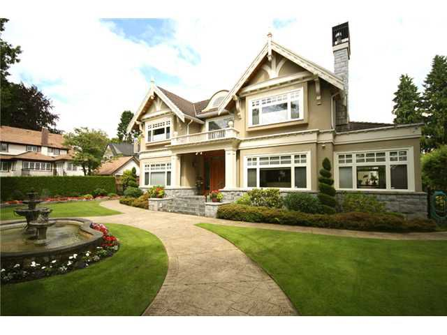 Main Photo: 6576 ADERA ST in Vancouver: South Granville House for sale (Vancouver West)  : MLS®# V902009