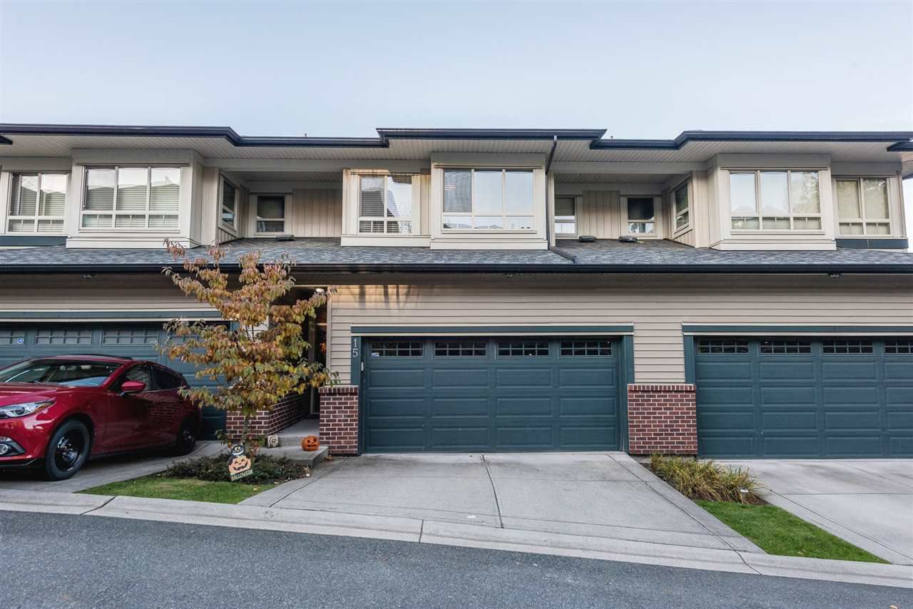 """Main Photo: 15 13771 232A Street in Maple Ridge: Silver Valley Townhouse for sale in """"Silver Heights Estates"""" : MLS®# R2227094"""