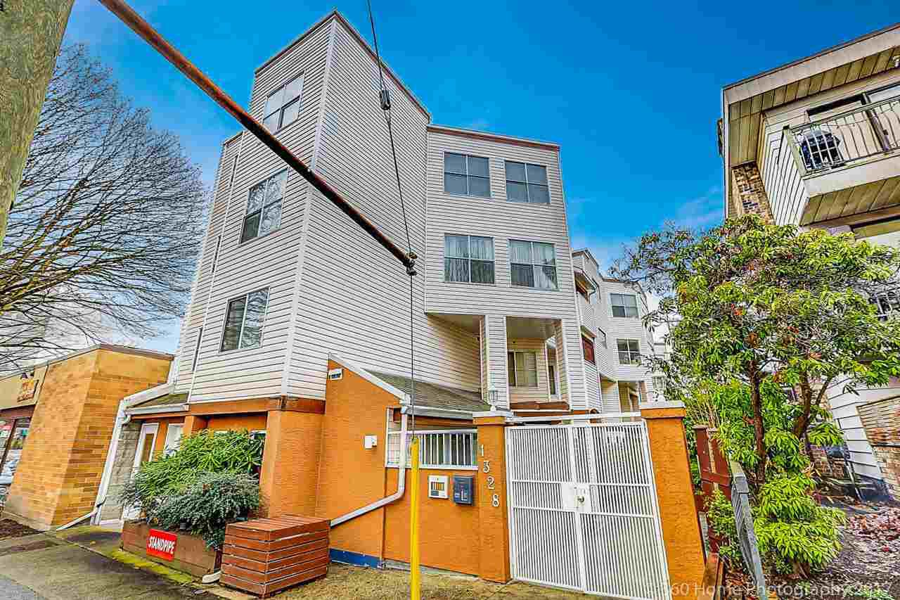 Main Photo: 1 1328 W 73RD Avenue in Vancouver: Marpole Townhouse for sale (Vancouver West)  : MLS®# R2236318