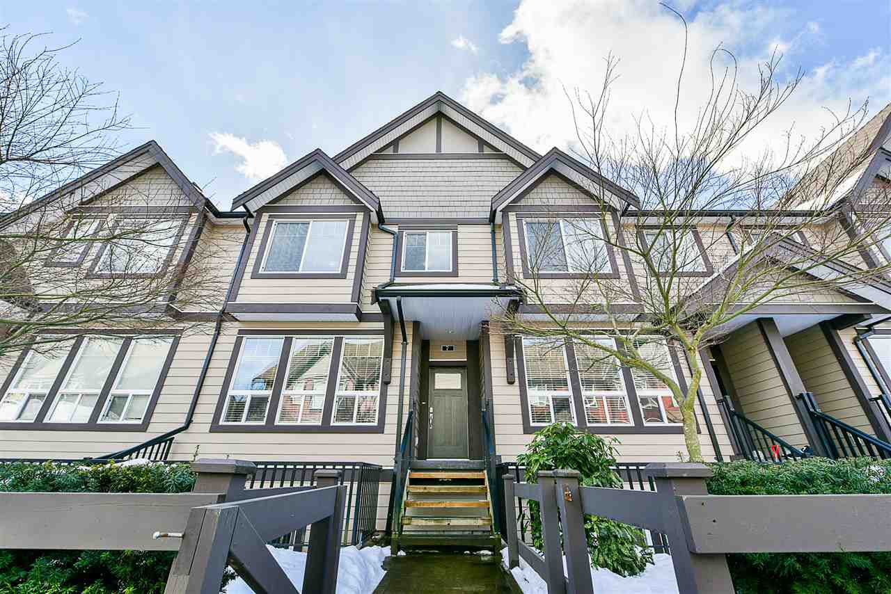 Main Photo: 7 14877 60 Avenue in Surrey: Sullivan Station Townhouse for sale : MLS®# R2242441