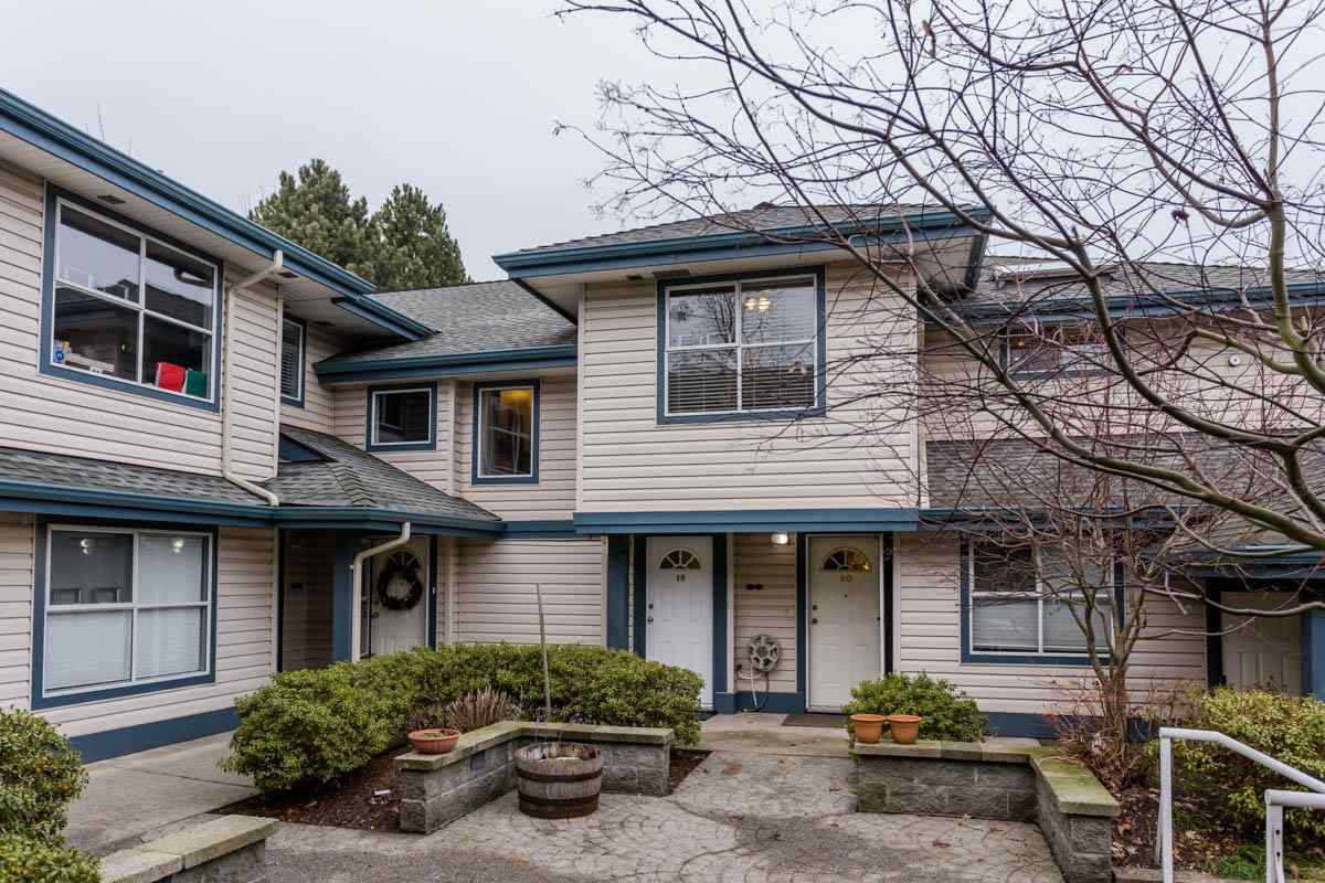 """Main Photo: 19 5664 208 Street in Langley: Langley City Townhouse for sale in """"The Meadows"""" : MLS®# R2244817"""