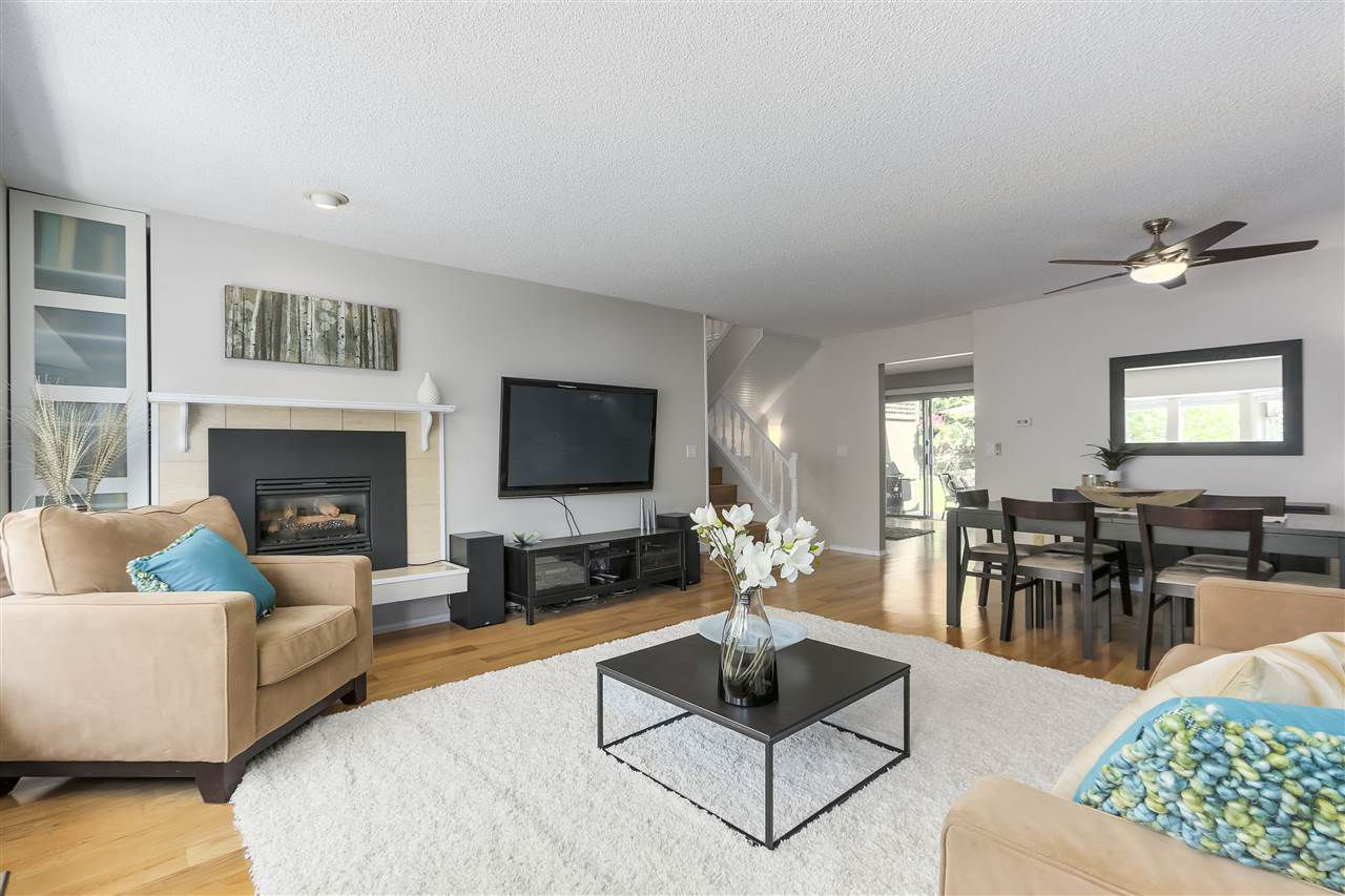"Main Photo: 8861 LARKFIELD Drive in Burnaby: Forest Hills BN Townhouse for sale in ""PRIMROSE"" (Burnaby North)  : MLS®# R2271483"