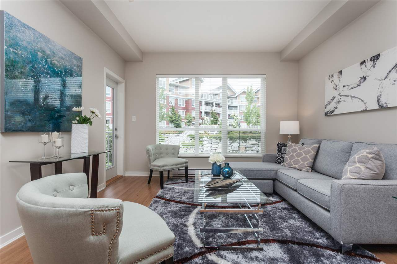"""Main Photo: 313 6440 194 Street in Surrey: Clayton Condo for sale in """"Waterstone"""" (Cloverdale)  : MLS®# R2279018"""