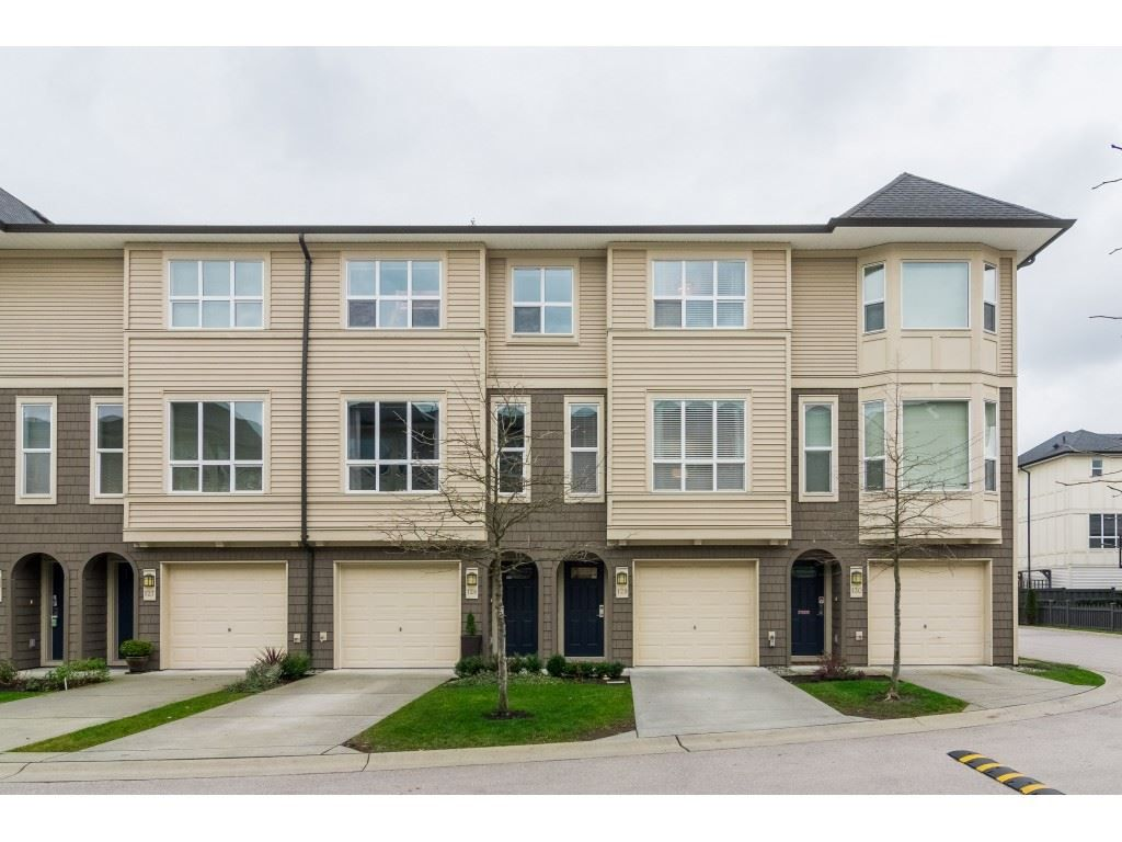 "Main Photo: 129 7938 209 Street in Langley: Willoughby Heights Townhouse for sale in ""Red Maple Park"" : MLS®# R2335783"