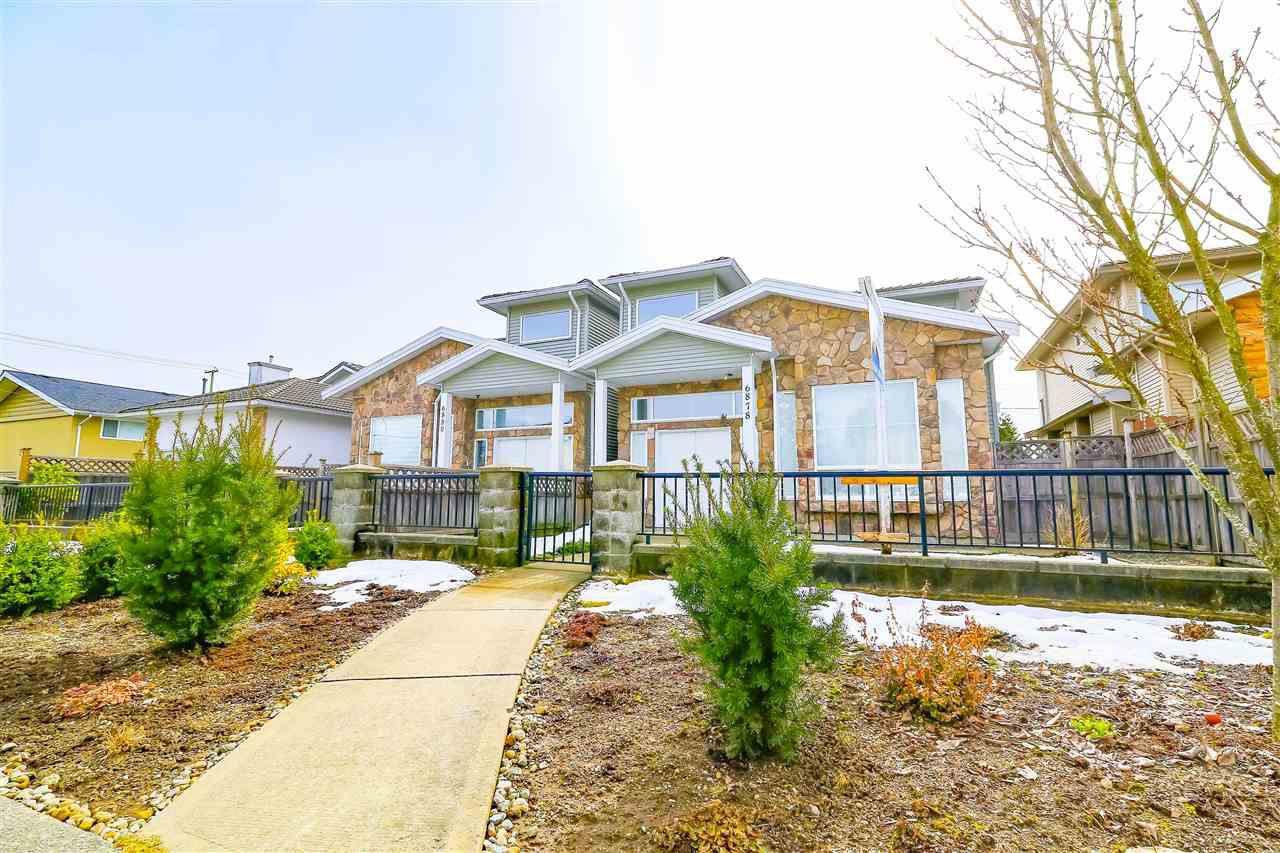 Main Photo: 6878 BURFORD Street in Burnaby: Upper Deer Lake House 1/2 Duplex for sale (Burnaby South)  : MLS®# R2345823