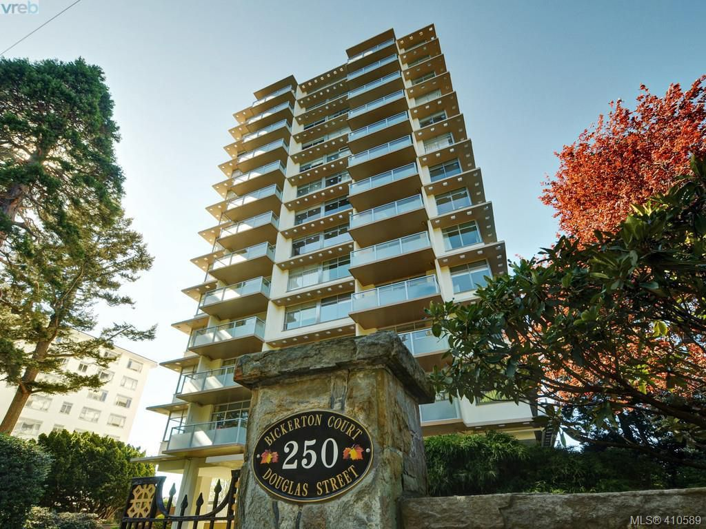 Main Photo: 605 250 Douglas Street in VICTORIA: Vi James Bay Condo Apartment for sale (Victoria)  : MLS®# 410589