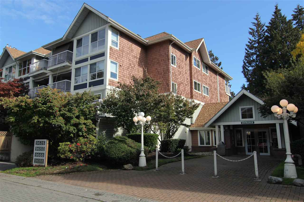 "Main Photo: 306 9668 148 Street in Surrey: Guildford Condo for sale in ""Hartford Woods"" (North Surrey)  : MLS®# R2115016"
