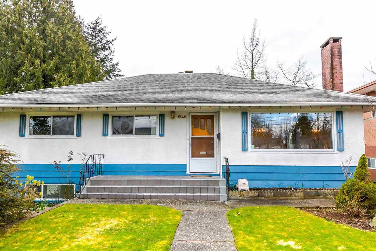 """Main Photo: 5246 SPRUCE Street in Burnaby: Deer Lake Place House for sale in """"DEER LAKE PLACE"""" (Burnaby South)  : MLS®# R2151771"""
