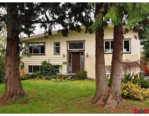 Main Photo: 15794 TULIP Drive in South Surrey White Rock: Home for sale : MLS®# F2906792