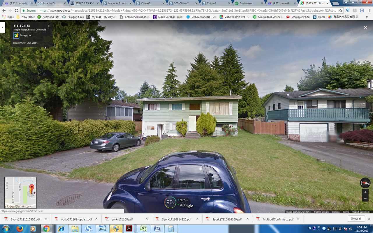 Main Photo: 11628 211 Street in Maple Ridge: Southwest Maple Ridge House for sale : MLS®# R2221464