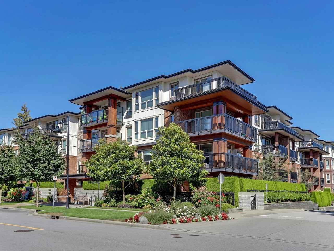 """Main Photo: 409 1153 KENSAL Place in Coquitlam: New Horizons Condo for sale in """"WINDSOR GATE"""" : MLS®# R2325595"""