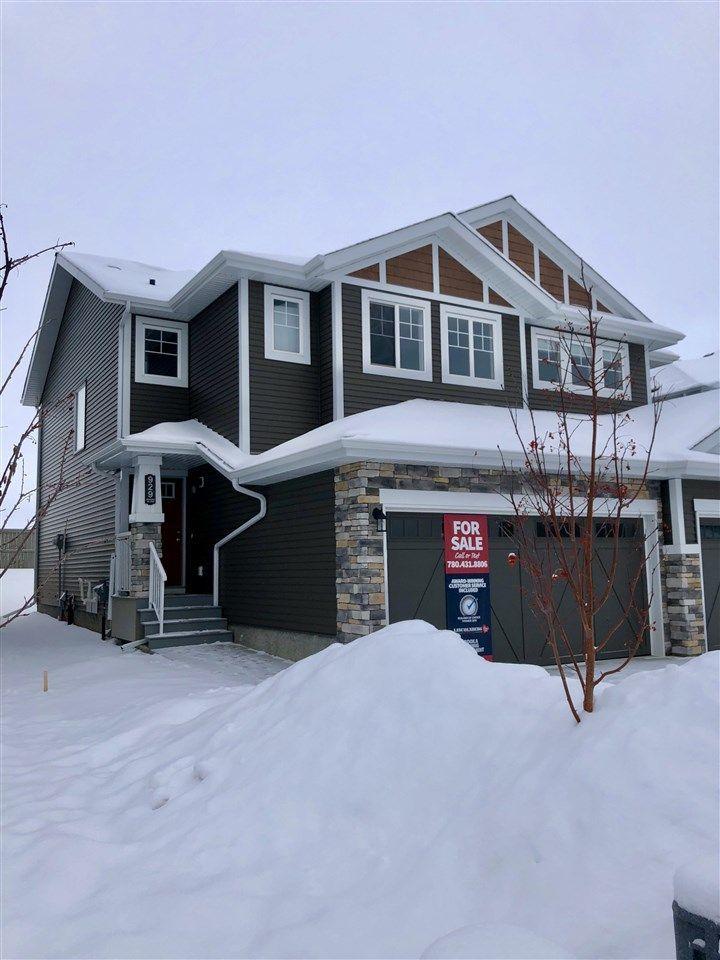 Main Photo: 929 Ebbers Crescent in Edmonton: Zone 02 House Half Duplex for sale : MLS®# E4137508