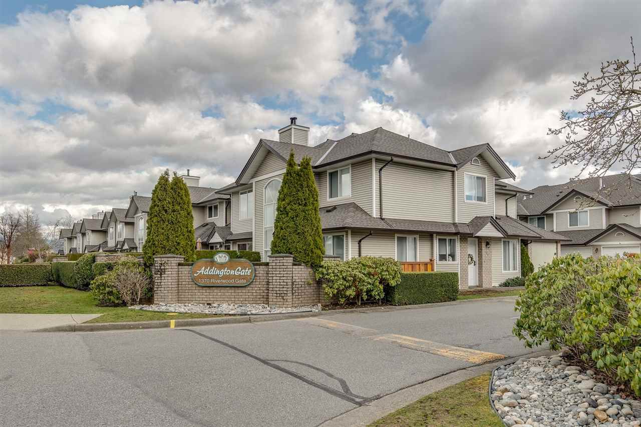 "Main Photo: 51 1370 RIVERWOOD Gate in Port Coquitlam: Riverwood Townhouse for sale in ""Addington Gate"" : MLS®# R2351847"