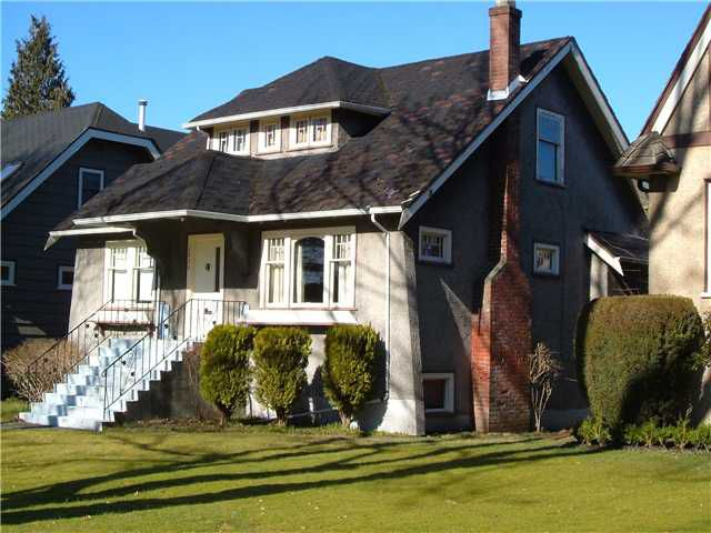 Main Photo: 3859 W 23RD Avenue in Vancouver: Dunbar House for sale (Vancouver West)  : MLS®# V872882