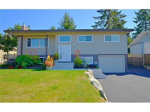 Main Photo: 853 SEYMOUR Drive in Coquitlam: Chineside House for sale : MLS®# V1111346