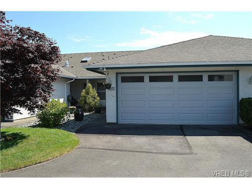 Main Photo: 127 2600 Ferguson Road in SAANICHTON: CS Turgoose Townhouse for sale (Central Saanich)  : MLS®# 351571