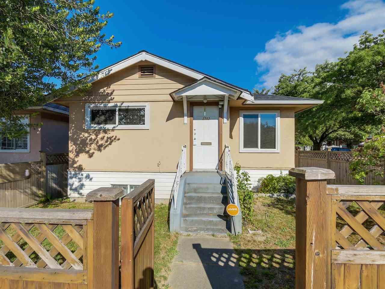 Main Photo: 3592 KNIGHT Street in Vancouver: Knight House for sale (Vancouver East)  : MLS®# R2119614