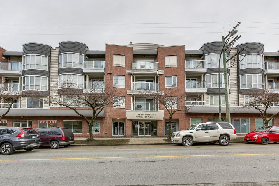 Main Photo: 209 789 W 16TH AVENUE in Vancouver: Fairview VW Condo for sale (Vancouver West)  : MLS®# R2142582
