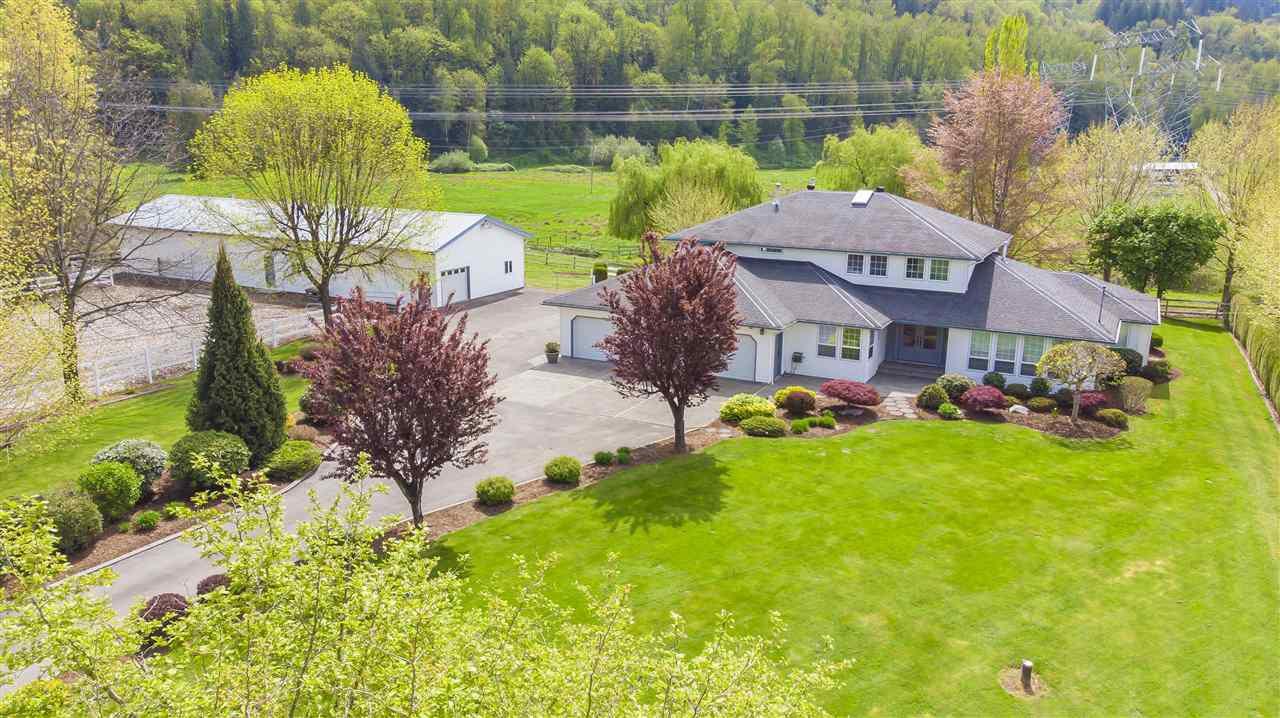 Main Photo: 9589 MCMILLAN Road in Rosedale: Rosedale Popkum House for sale : MLS®# R2363064