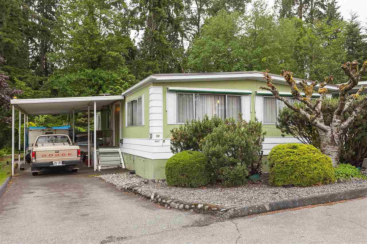 "Main Photo: 50 13650 80 Avenue in Surrey: East Newton Manufactured Home for sale in ""LeeSide"" : MLS®# R2371257"