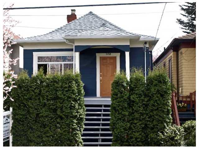 Main Photo: 1178 E 14TH Avenue in Vancouver: Mount Pleasant VE House for sale (Vancouver East)  : MLS®# V878809