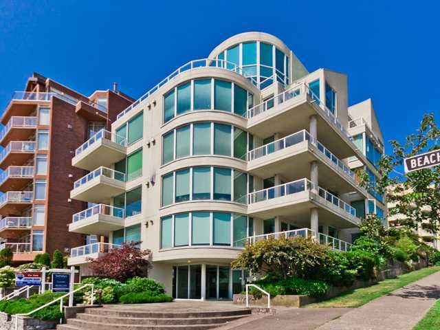 Main Photo: # 2A 1403 BEACH AV in Vancouver: West End VW Condo for sale (Vancouver West)  : MLS®# V1013664