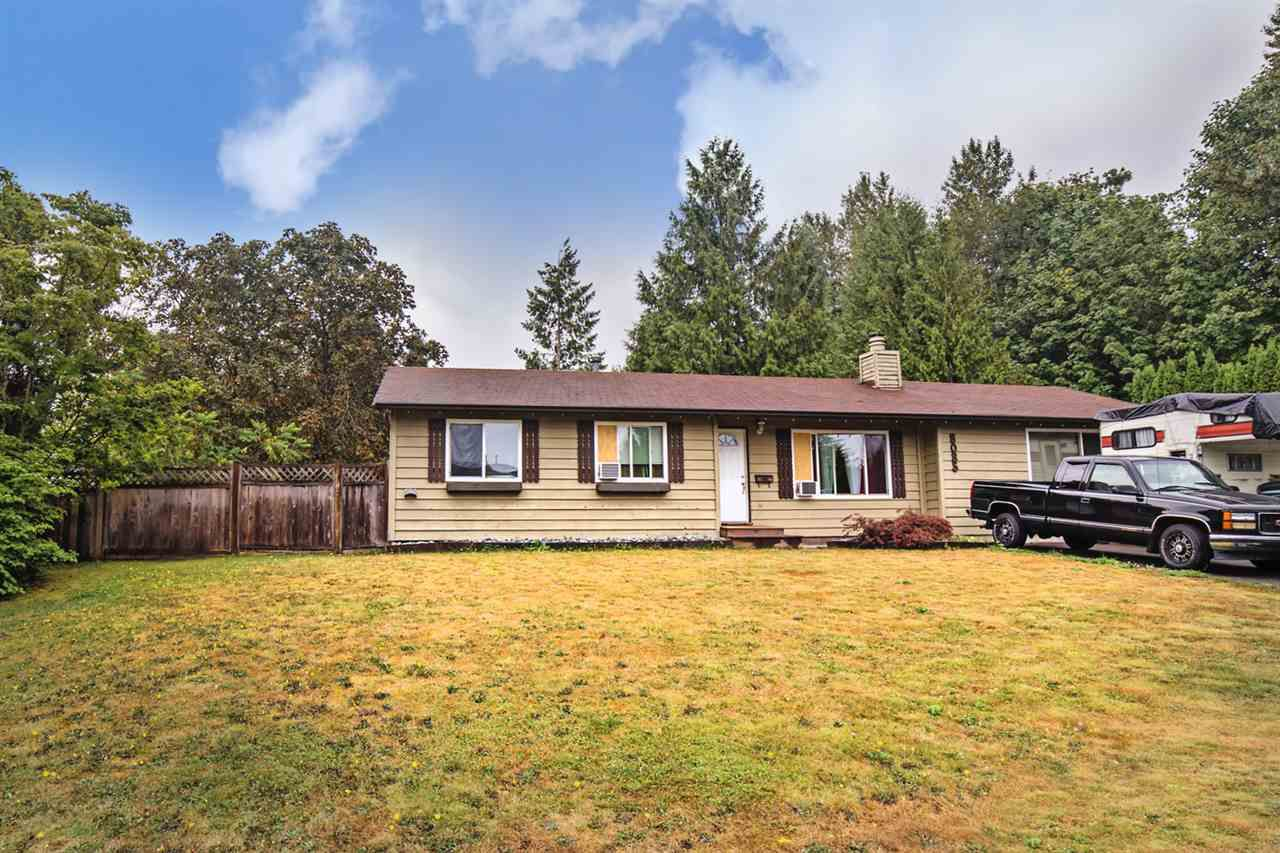 Main Photo: 8085 ANTELOPE AVENUE in Mission: Mission BC House for sale : MLS®# R2204750