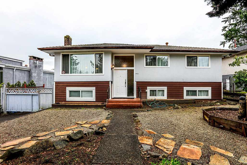 """Main Photo: 4912 PIONEER Avenue in Burnaby: Forest Glen BS House for sale in """"FOREST GLEN BS"""" (Burnaby South)  : MLS®# R2263102"""