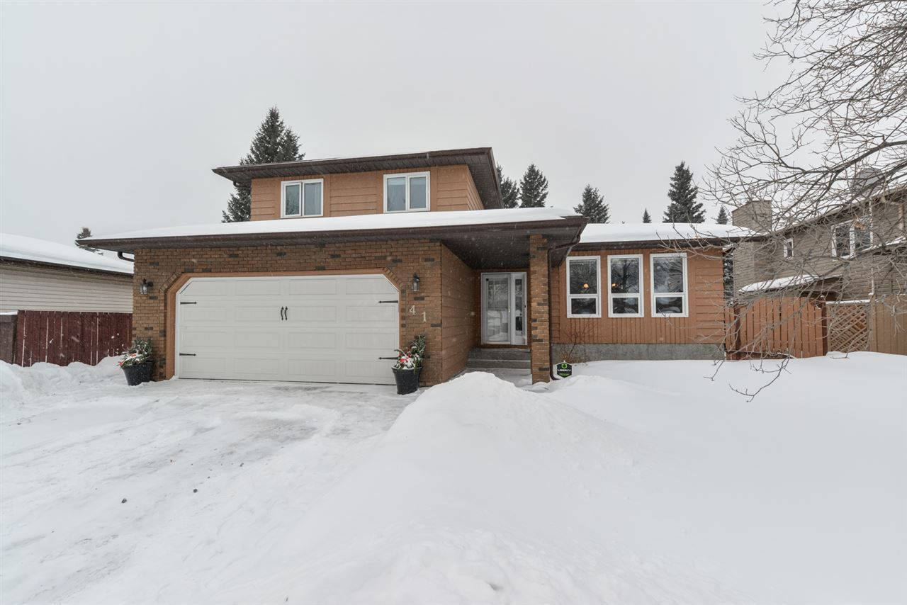 Main Photo: 41 WOODLANDS Road: St. Albert House for sale : MLS®# E4142504