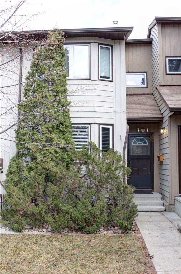 Main Photo: 101 10787 31 Avenue in Edmonton: Zone 16 Townhouse for sale : MLS®# E4144023