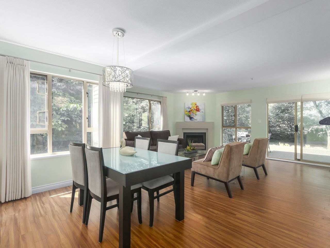"Main Photo: 108 3658 BANFF Court in North Vancouver: Northlands Condo for sale in ""THE CLASSICS"" : MLS®# R2366694"