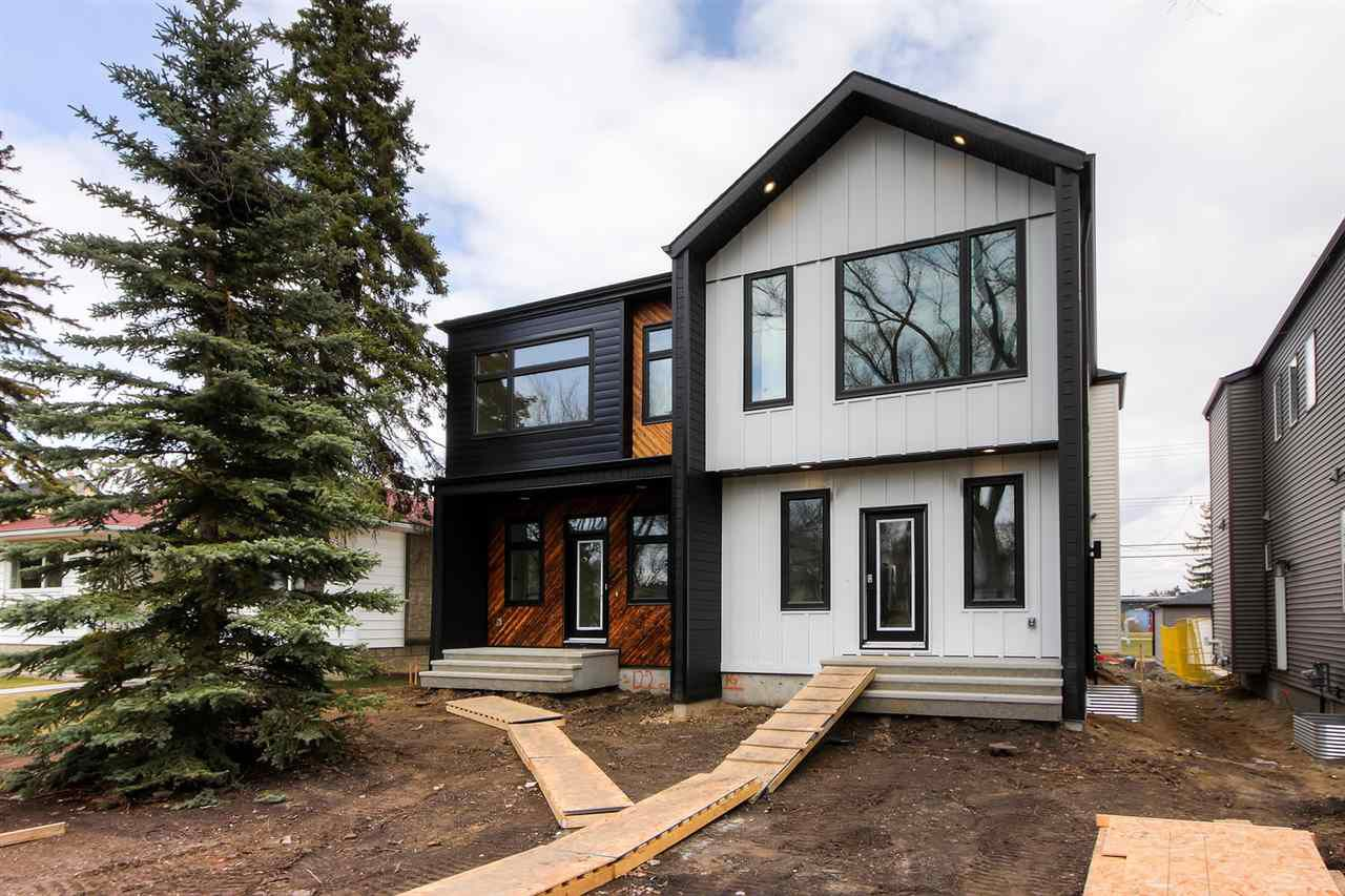Main Photo: 11335 122 ST NW in Edmonton: Zone 07 House Half Duplex for sale : MLS®# E4156296