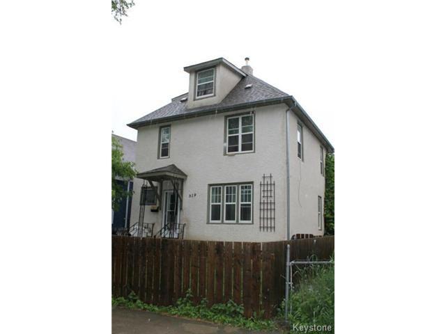 Main Photo: 519 Beverley Street in WINNIPEG: West End / Wolseley Residential for sale (West Winnipeg)  : MLS®# 1515451