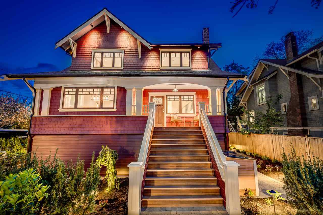 Main Photo: 2239 BLENHEIM Street in Vancouver: Kitsilano House 1/2 Duplex for sale (Vancouver West)  : MLS®# R2164217
