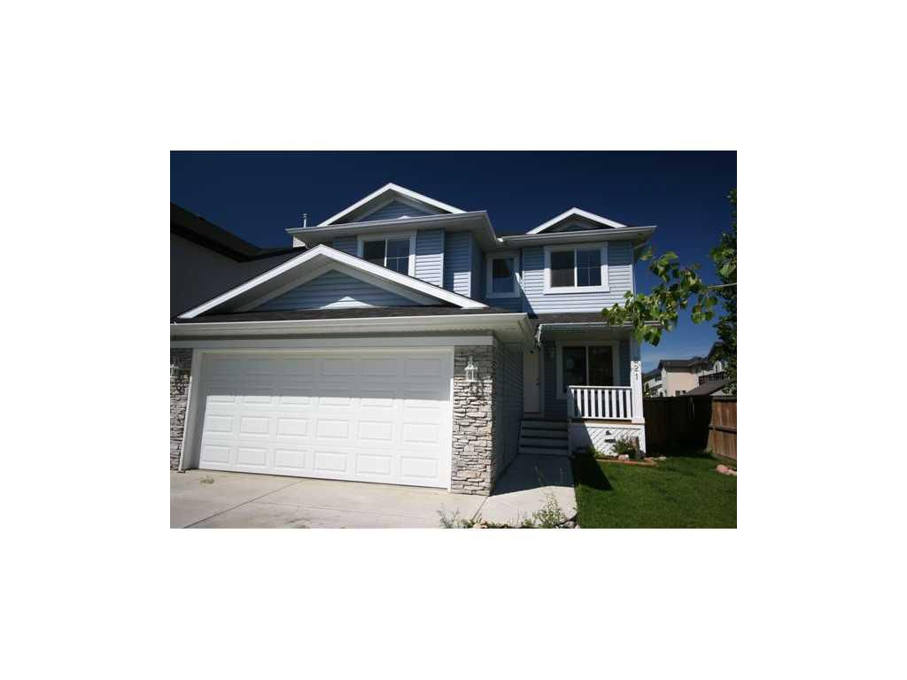 Main Photo: 221 Oakmere Way in Chestermere: House for sale : MLS®# C3437947