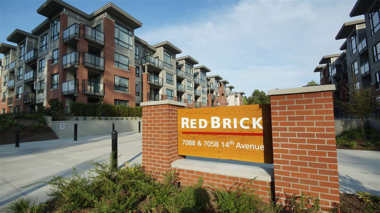 """Main Photo: 115 7088 14TH Avenue in Burnaby: Edmonds BE Condo for sale in """"REDBRICK A"""" (Burnaby East)  : MLS®# R2251445"""