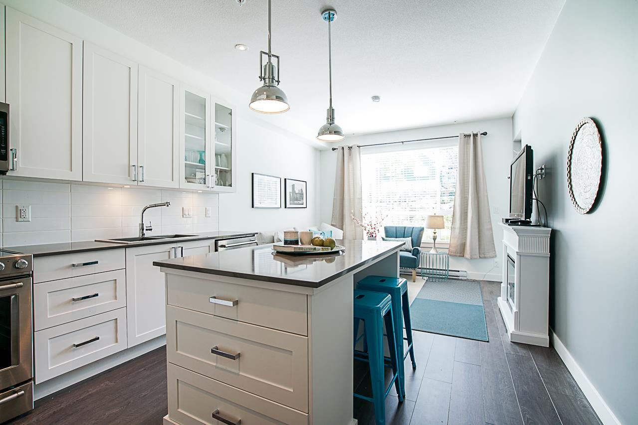 """Main Photo: 214 16380 64 Avenue in Surrey: Cloverdale BC Condo for sale in """"THE RIDGE AT BOSE FARMS"""" (Cloverdale)  : MLS®# R2262780"""