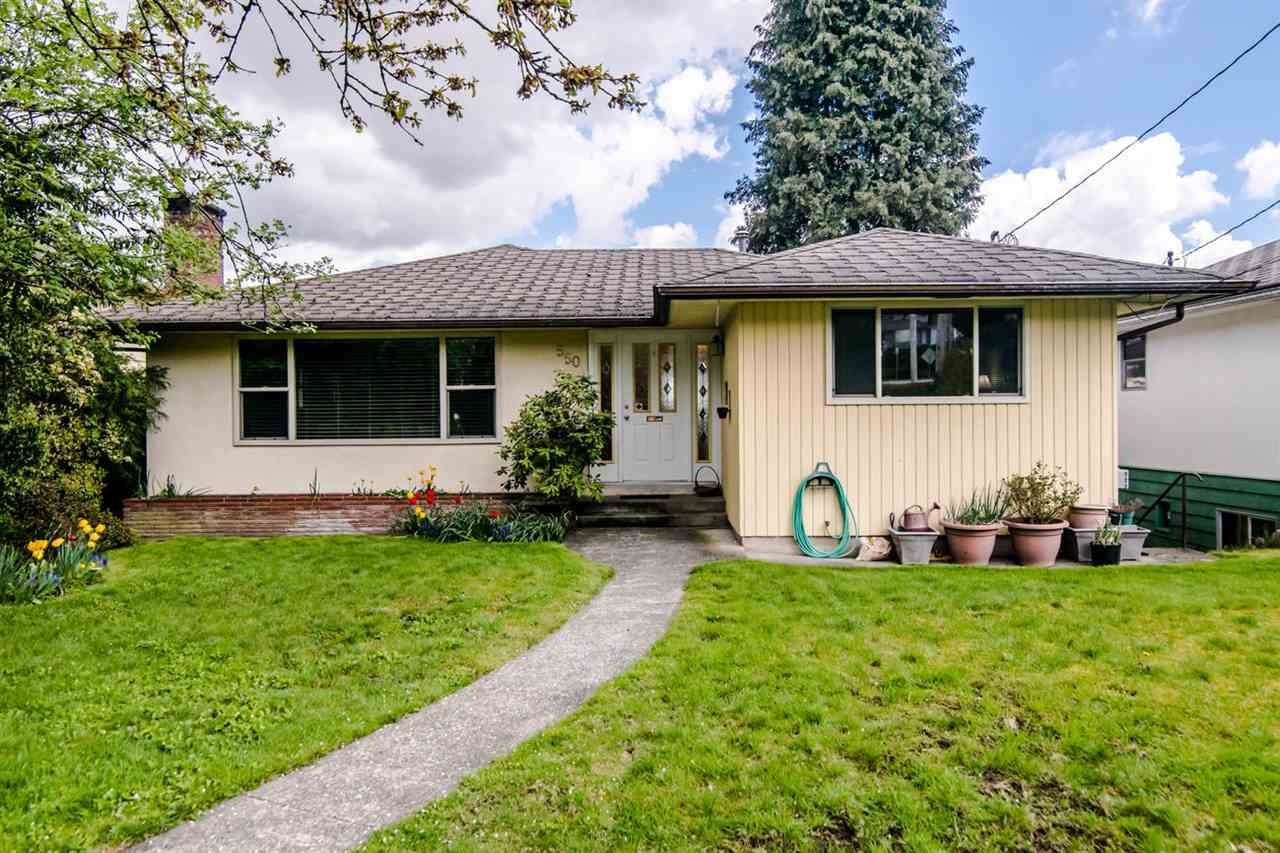 """Main Photo: 550 RICHMOND Street in New Westminster: The Heights NW House for sale in """"The Heights"""" : MLS®# R2362195"""