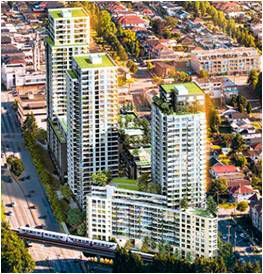 Main Photo: #751 at WALL CENTRE CENTRAL PARK in Vancouver: Collingwood VE Condo  (Vancouver East)